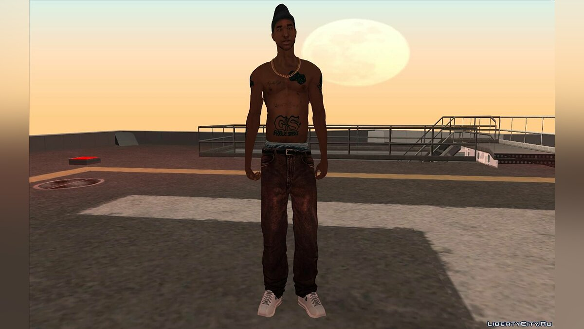 New character Og Loc HD for GTA San Andreas