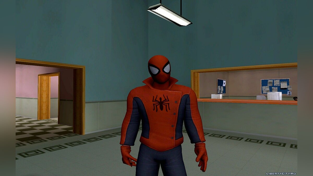 New character Spiderman from the game Spider-Man Edge of Time for PS3 for GTA San Andreas