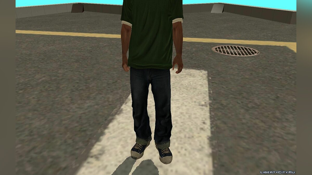 New character Свит Джонсон HD for GTA San Andreas