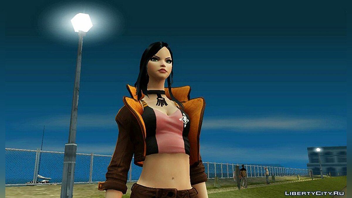 New character X-23 from Overwatch for GTA San Andreas