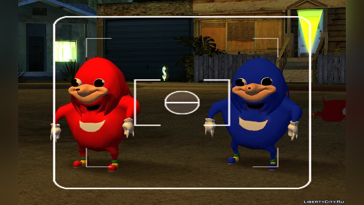 Ugandan Knuckles for GTA San Andreas - screenshot #3