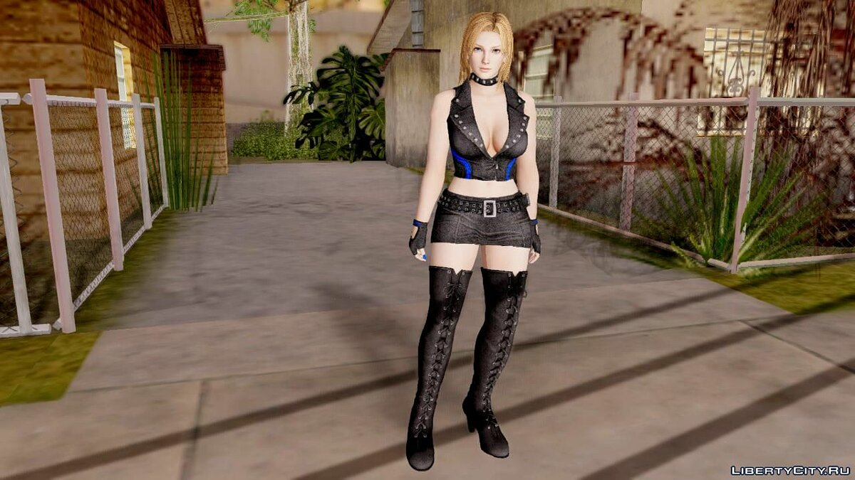New character Dead Or Alive 5 LR Tina Armstrong Pop Idol for GTA San Andreas