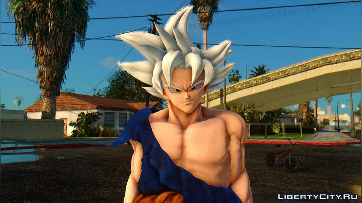 New character Goku + Migatte No Gokui HD for GTA San Andreas