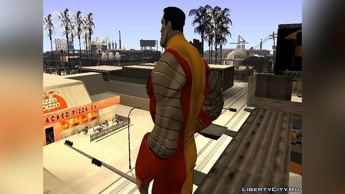 New character Colossus X-Men for GTA San Andreas