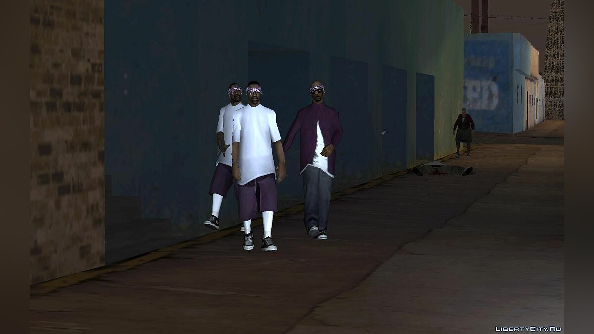 New gang members Ballas and Grove for GTA San Andreas - screenshot #9
