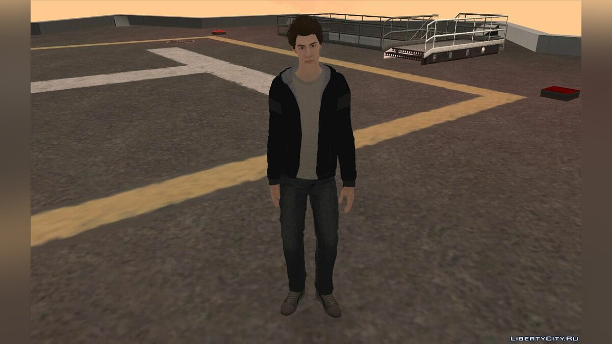 New character Peter Parker for GTA San Andreas