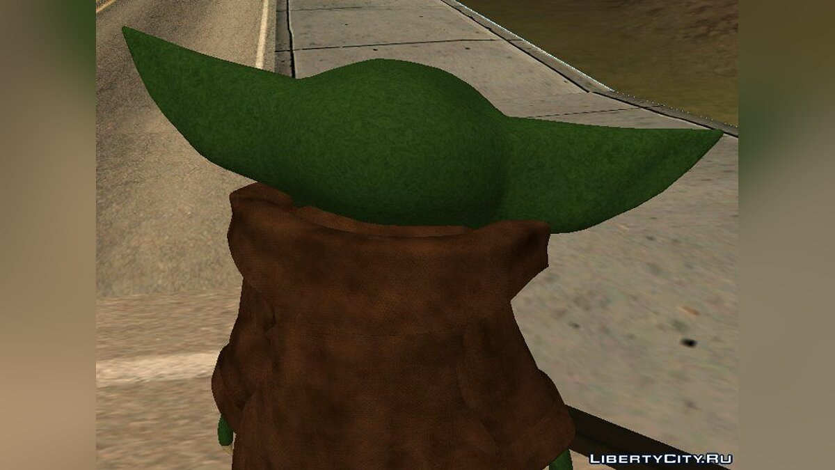 "Baby Yoda from the TV series ""Mandolorets"" for GTA San Andreas - screenshot #4"