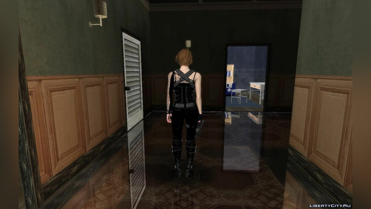 New character Jill Valentine from Resident Evil Resistance for GTA San Andreas