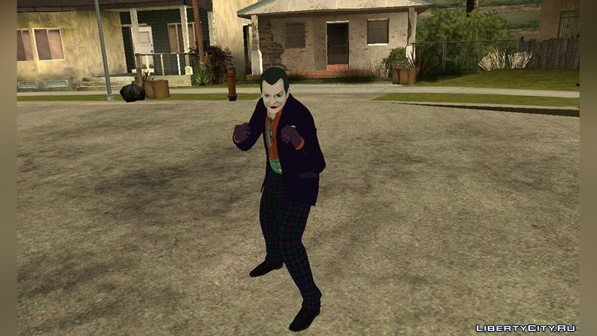 New character Joker 1989 by Jack Nicholson for GTA San Andreas