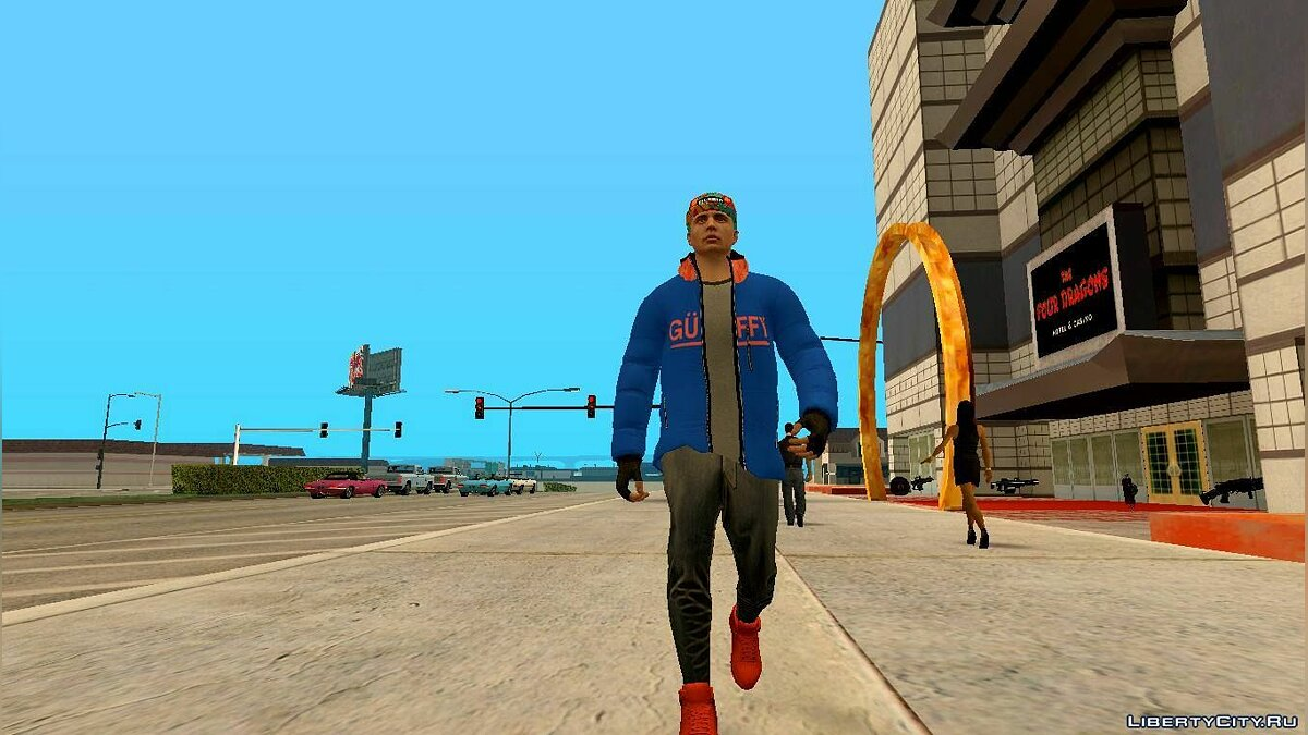 New character Skin Random # 65 (Outfit Import Export) for GTA San Andreas