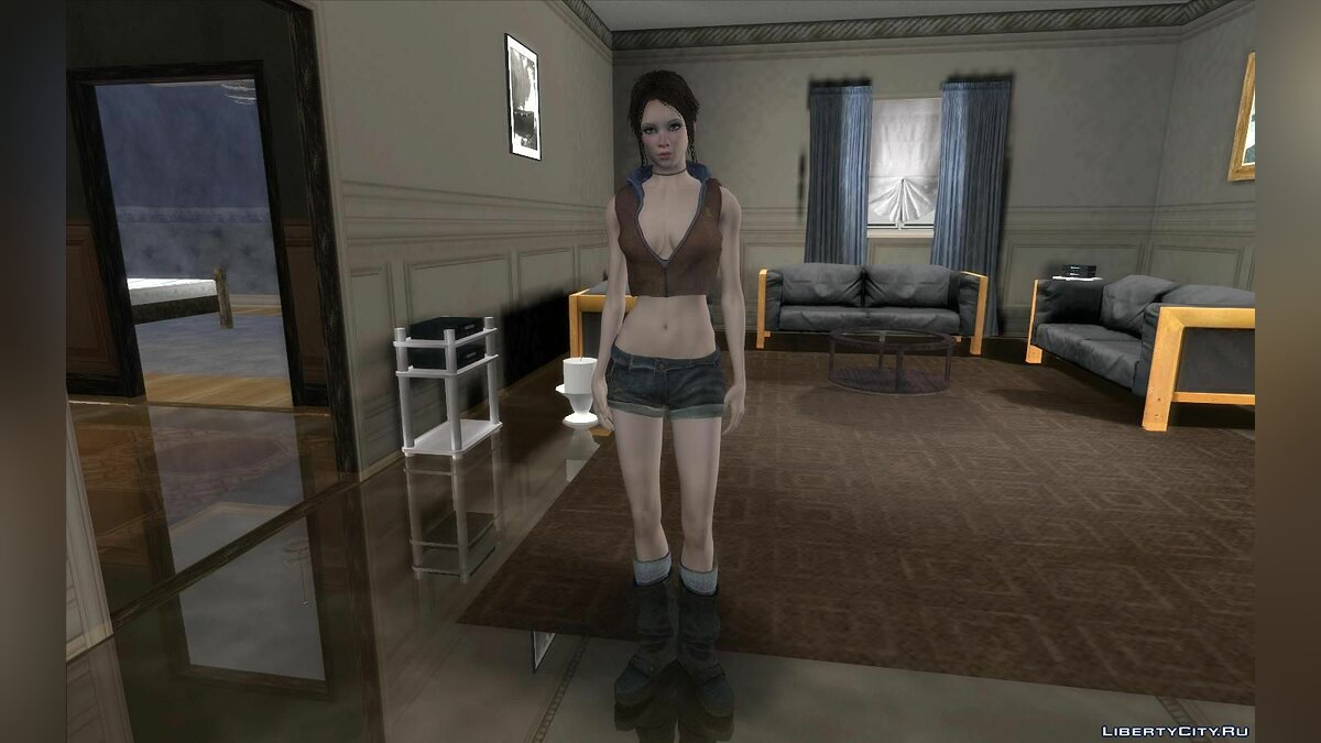 New character Kat from the game Devil May Cry for GTA San Andreas