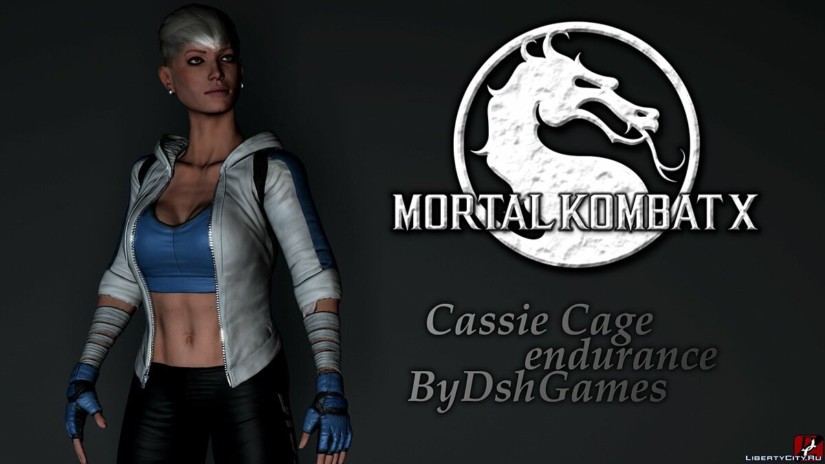 New character Cassie cage for GTA San Andreas