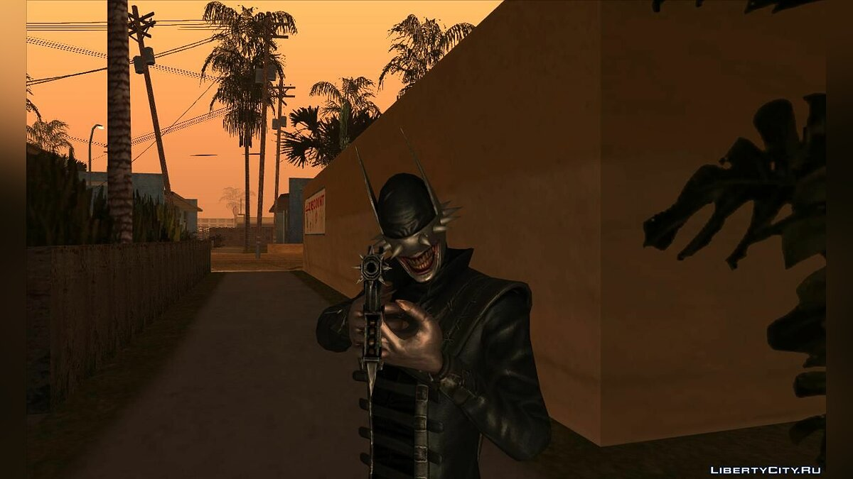New character The Batman Who Laughs (Injustice: Gods Among Us) for GTA San Andreas