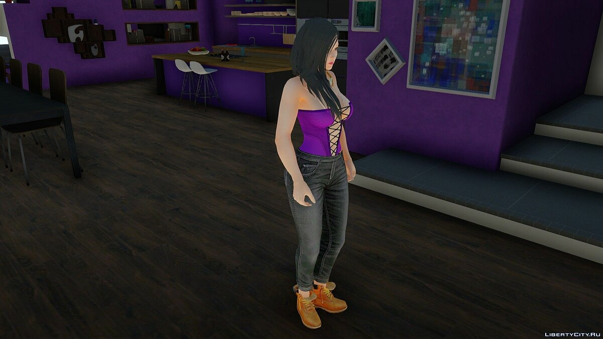 New character Tamaki in Casual Wear v6 for GTA San Andreas