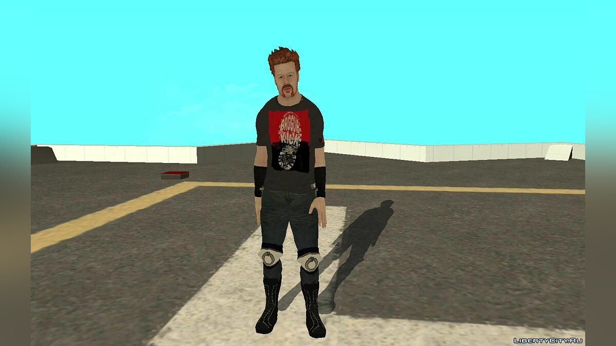 New character Шеймус for GTA San Andreas