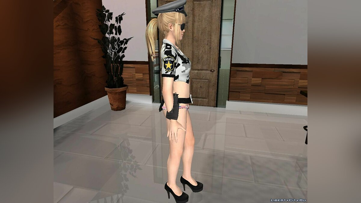 New character Marie Rose [Sexy Cop Mod] From Dead or Alive 5 for GTA San Andreas