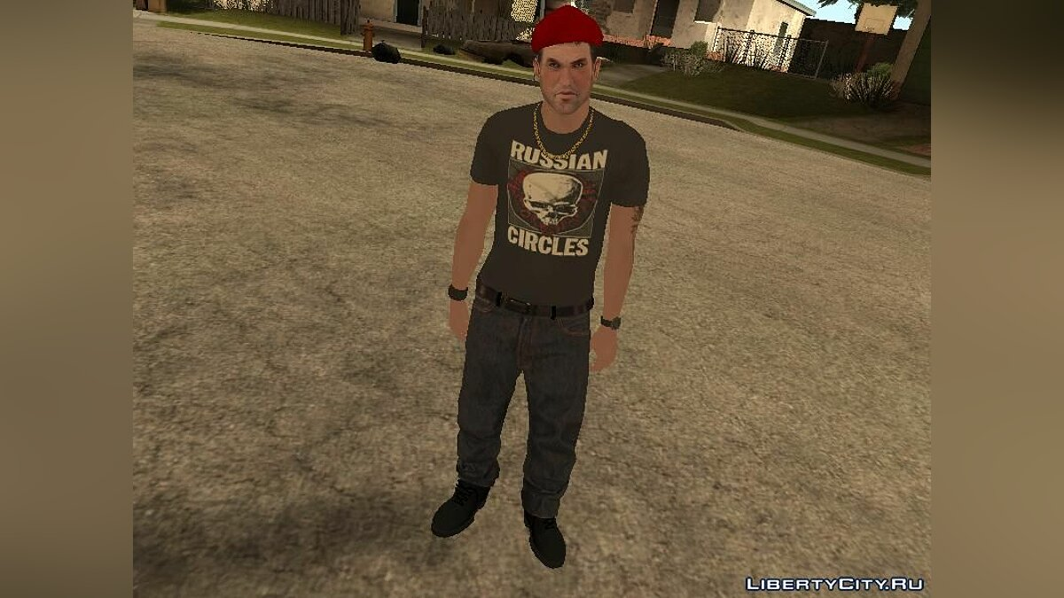 New character Русские бандиты for GTA San Andreas