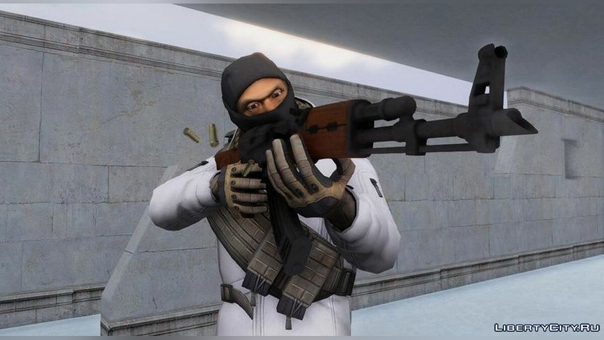 New character Skins from the game Counter Strike Online for GTA San Andreas