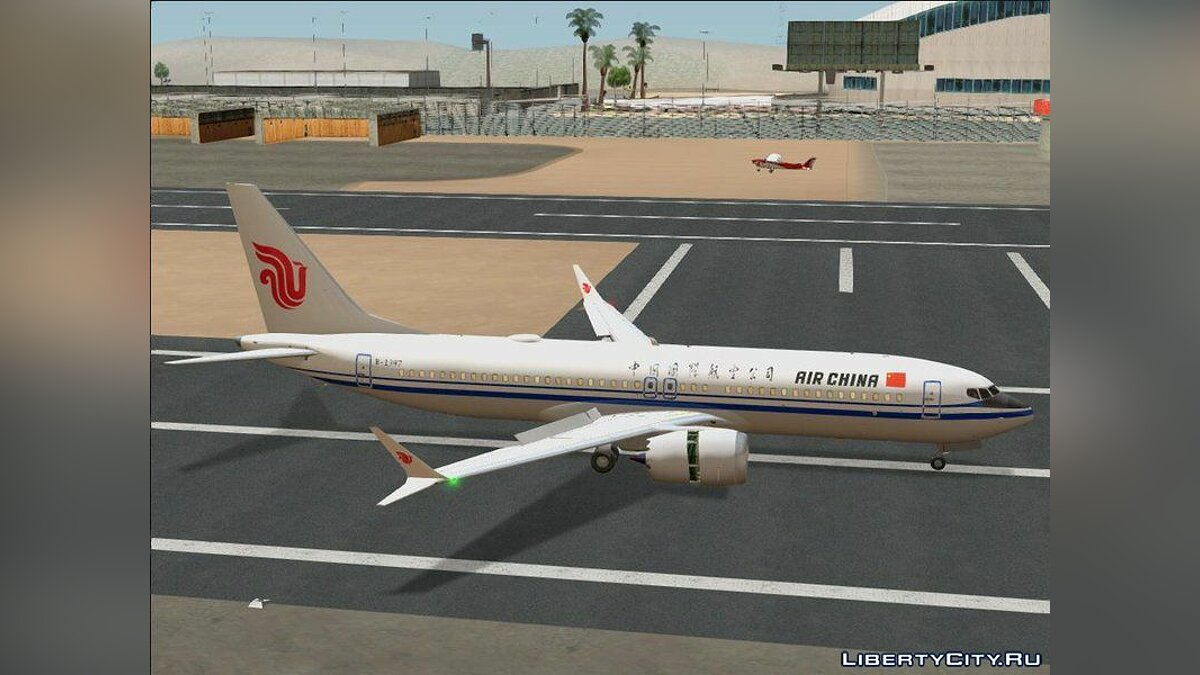 New character Boeing 737 MAX 8 for GTA San Andreas