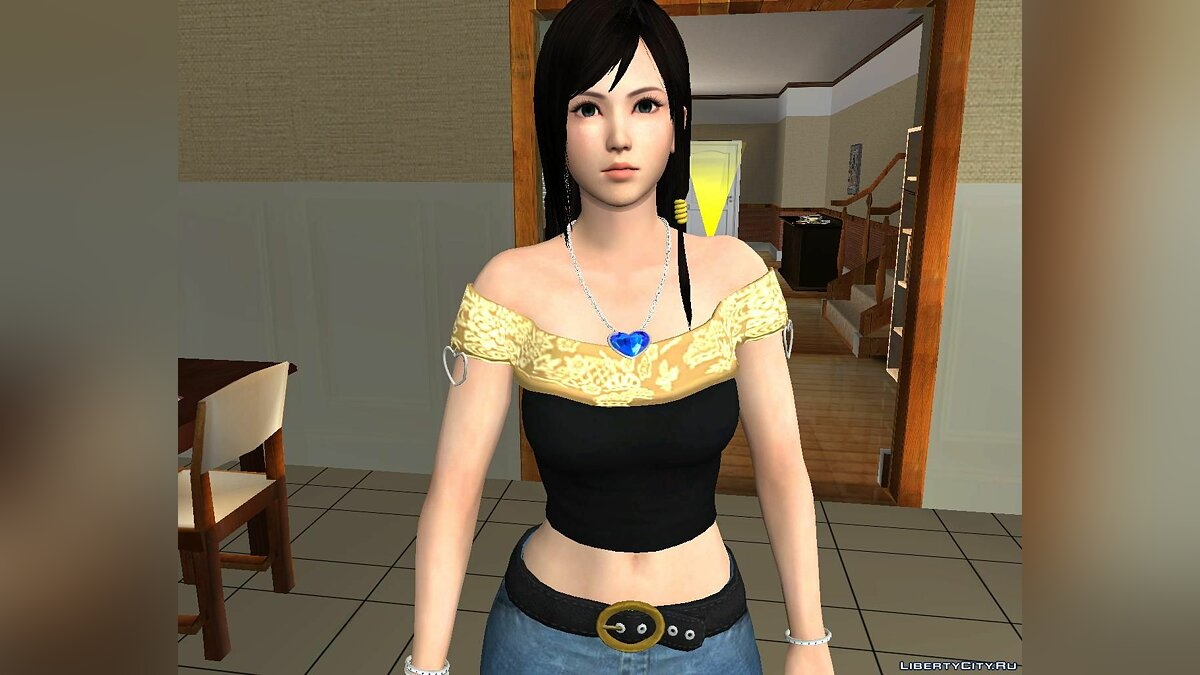 New character Kokoro C6 & C7 From Dead or Alive 4 for GTA San Andreas
