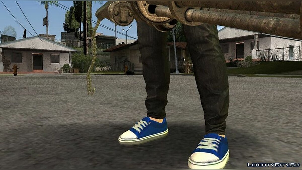 New character Skin character from the game GTA Online for GTA San Andreas