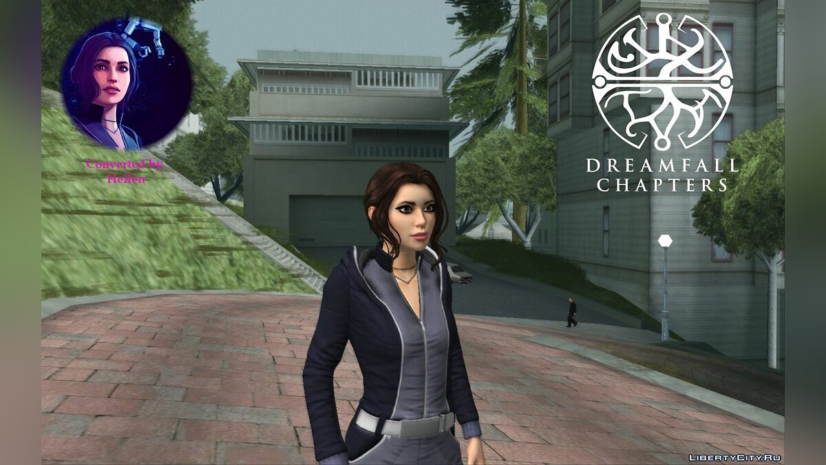 New character Zoe Castillo from Dreamfall Chapters for GTA San Andreas