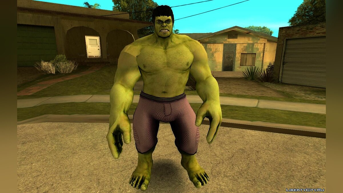 New character Hulk Age of Ultron for GTA San Andreas