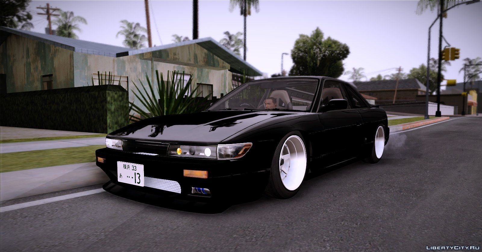 Gta San Andreas Nissan Silvia S15 Tunable Mod Was Downloaded Times Mona Lisa All Cars S13 For With Auto Installation You Can Download Free From On Our Site Sort