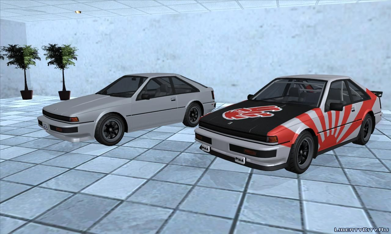 1985 nissan 200sx s12 us for gta san andreas. Black Bedroom Furniture Sets. Home Design Ideas