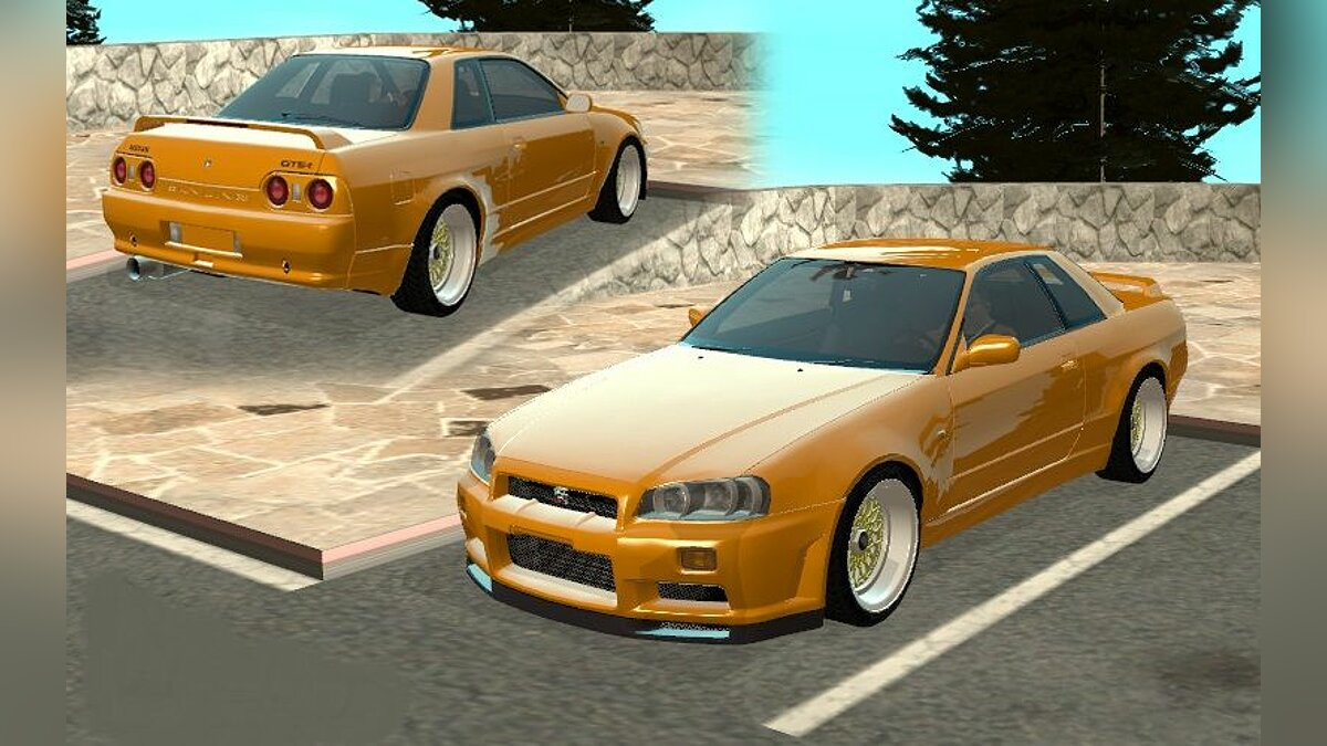 Nissan Skyline R36 - Stock for GTA San Andreas