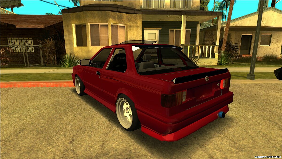 Nissan car Nissan Sunny B13 Coupe for GTA San Andreas