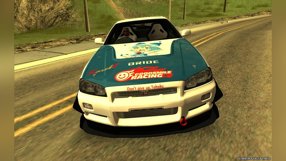 Nissan Skyline GT-R R34 Itasha for GTA San Andreas - Картинка #4
