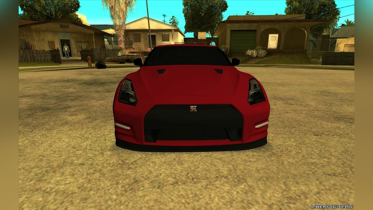 Nissan car Nissan GTR R35 2016 for GTA San Andreas