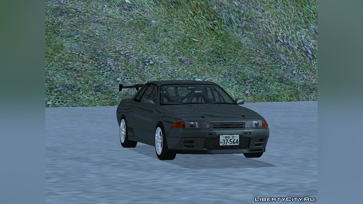 Nissan car Initial D Fifth Stage Hojo RInShinigami Nissan Skyline BNR32 for GTA San Andreas