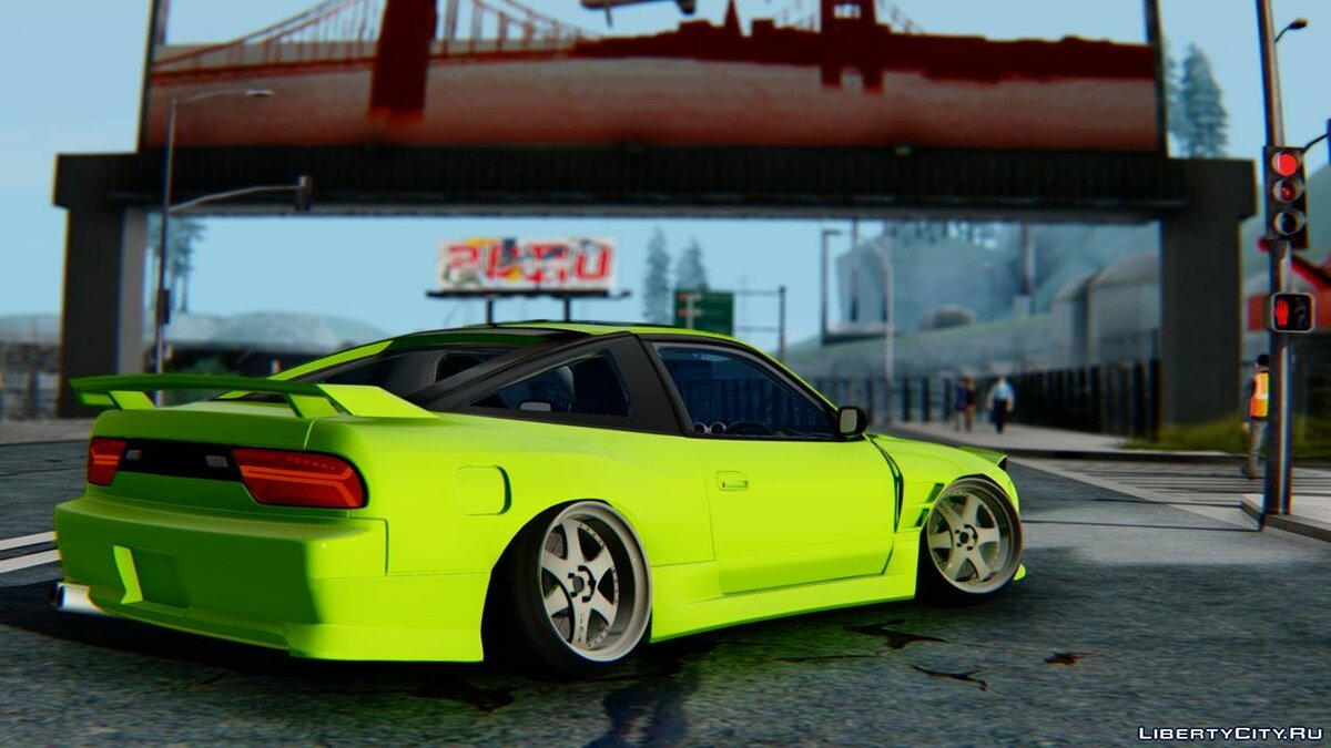 Nissan car Nissan 180SX for GTA San Andreas