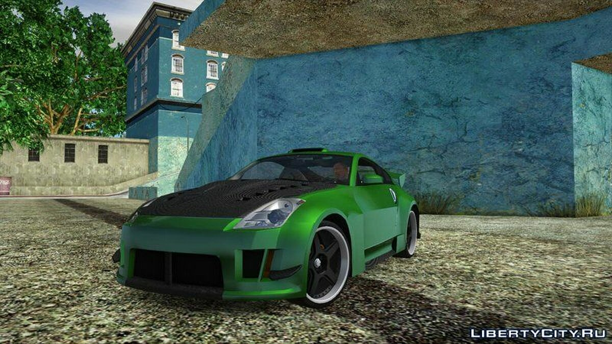 Nissan car Nissan 350z for GTA San Andreas