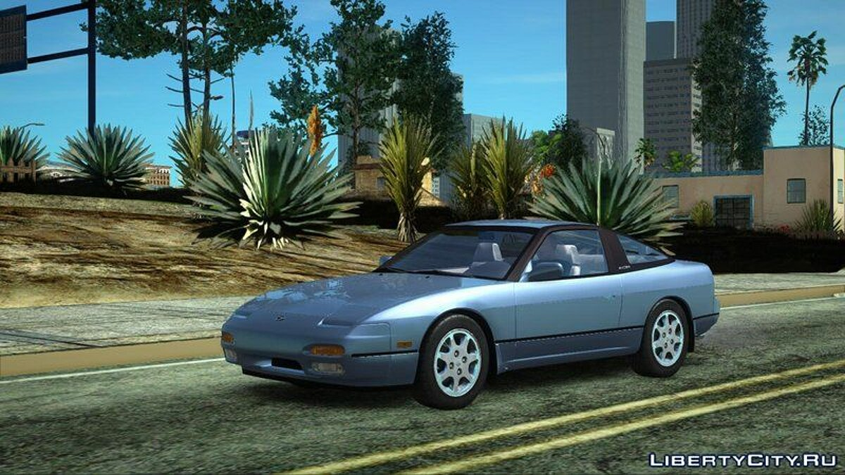 Nissan car Nissan 240sx for GTA San Andreas