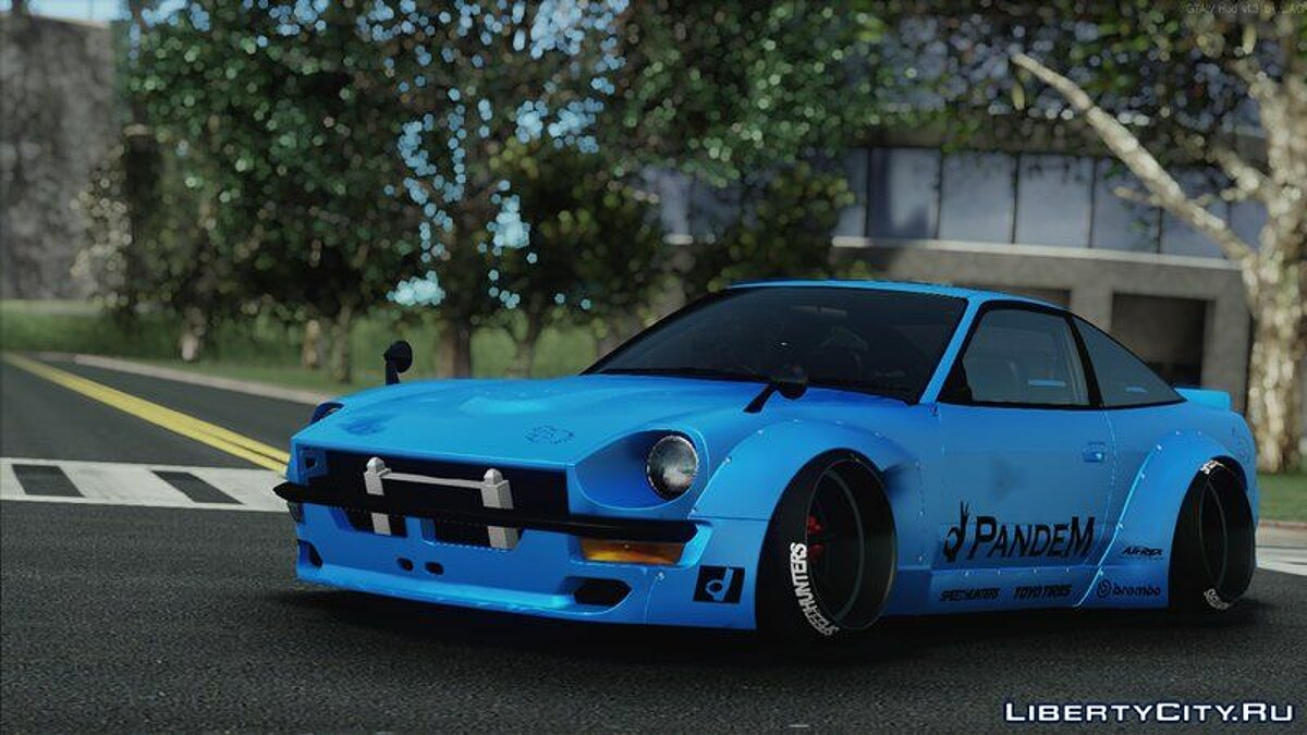 Nissan car 1994 Nissan 240sx Facelift (S30 Frontend) for GTA San Andreas