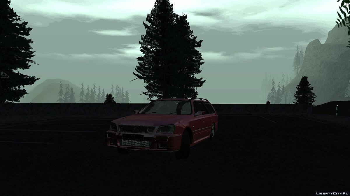 Nissan car Nissan Stagea WC34 1996 for GTA San Andreas