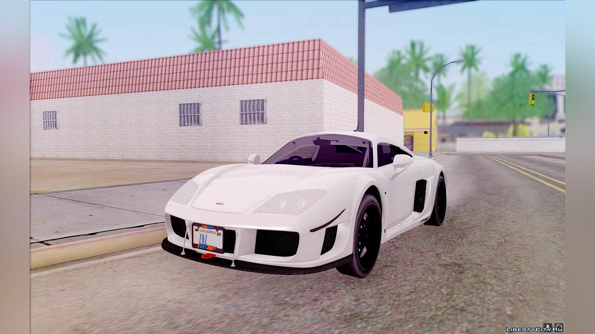 Noble Automotive car Noble M600 for GTA San Andreas