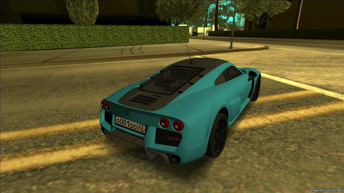 Noble Automotive car Noble M600 2017 for GTA San Andreas