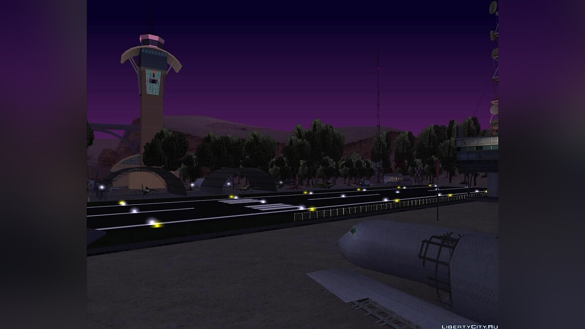 New CJ Airport Final Version for GTA San Andreas