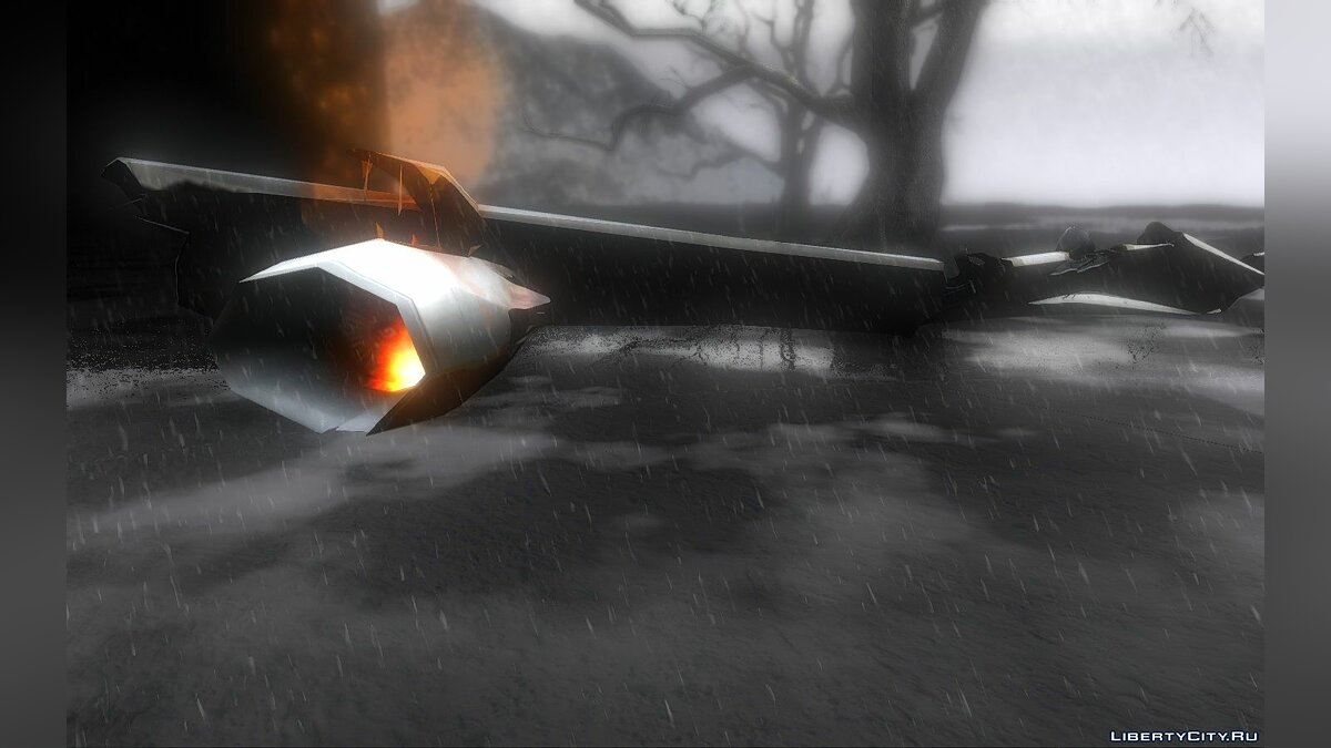 New object Wrecked aircraft from Left 4 Dead 2 for GTA San Andreas