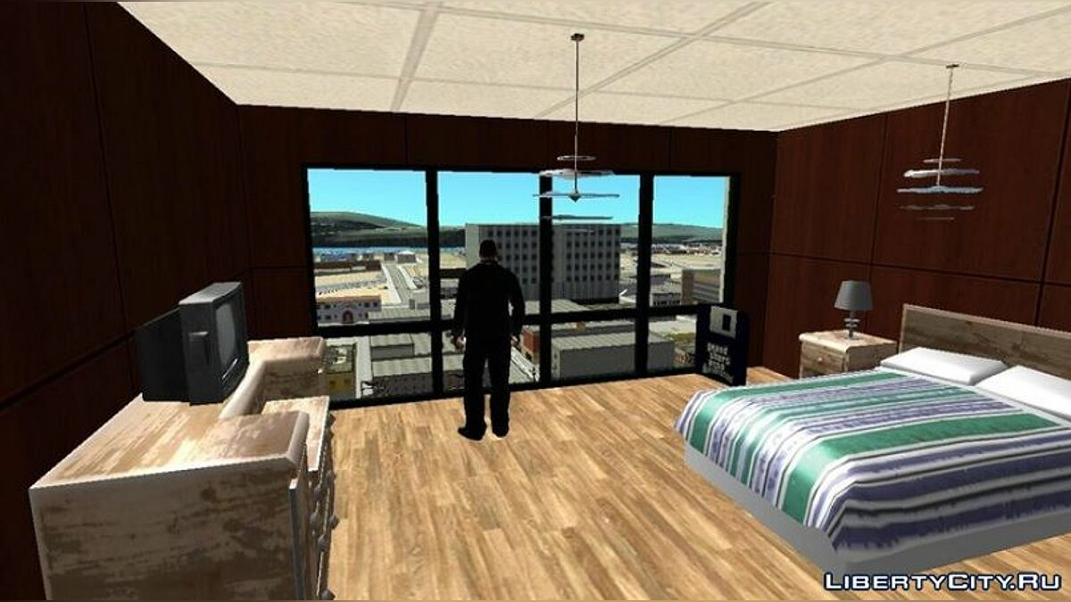 New object Room at the Pilgrim hotel for GTA San Andreas
