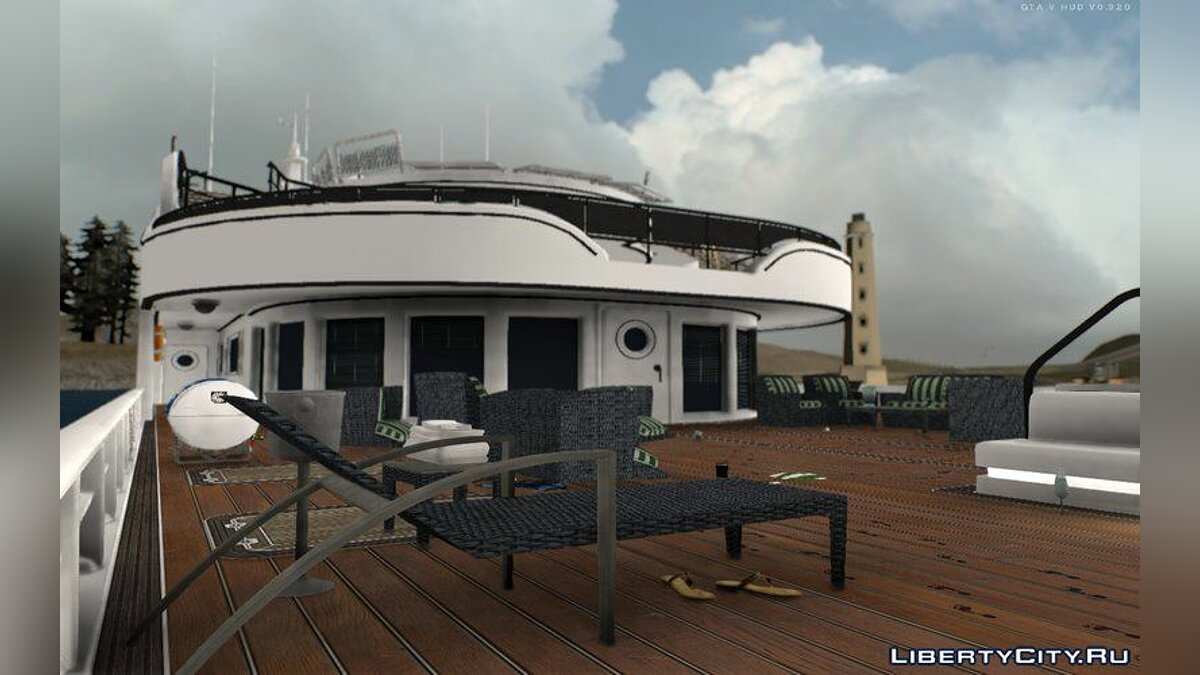 New object GTA IN YACHT DIGNITES for GTA San Andreas