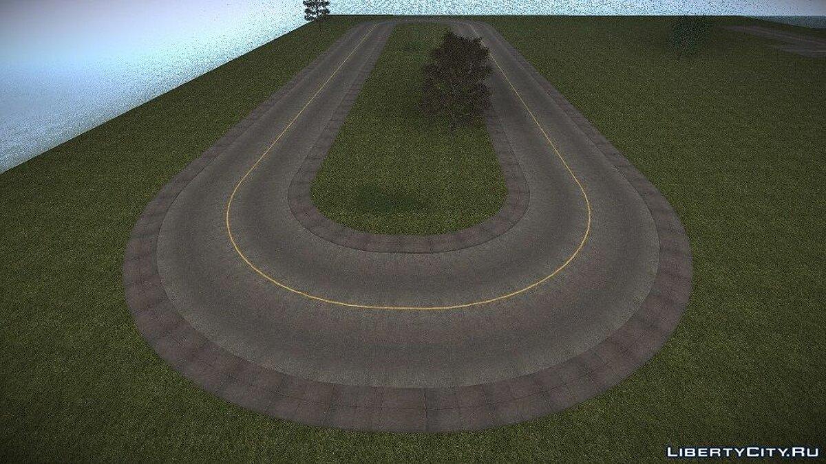 New object Collection of roads for GTA San Andreas