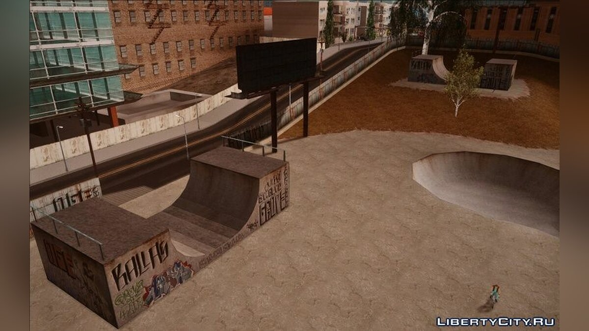 New object Ramp Mod for GTA San Andreas