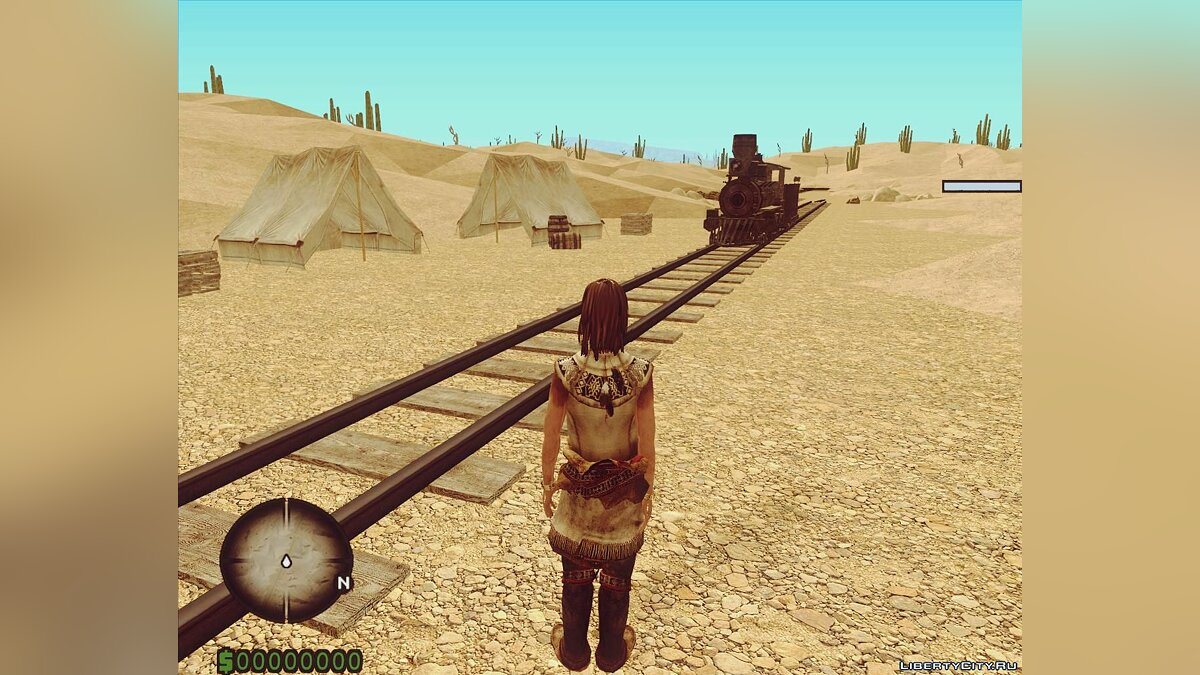 New object Abandoned train for GTA San Andreas