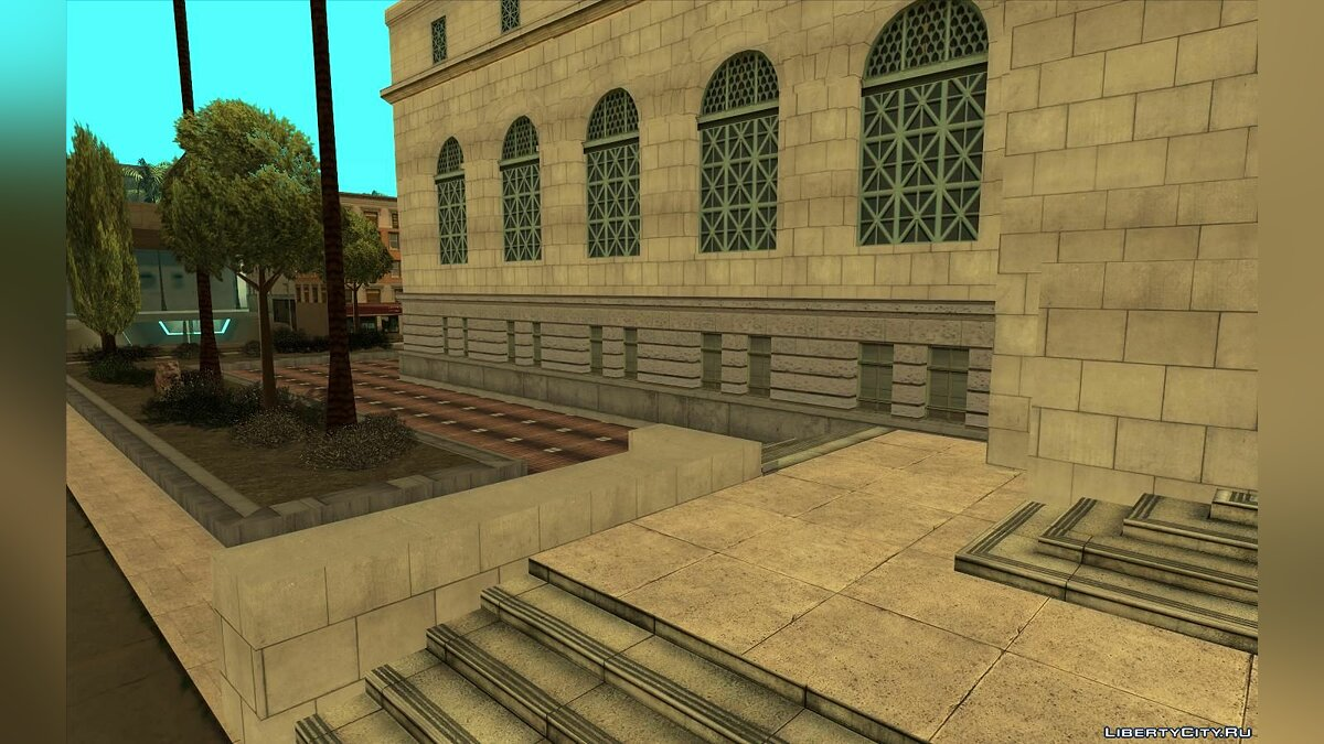 New object GTA 5 Los Santos City Hall V2 for GTA San Andreas