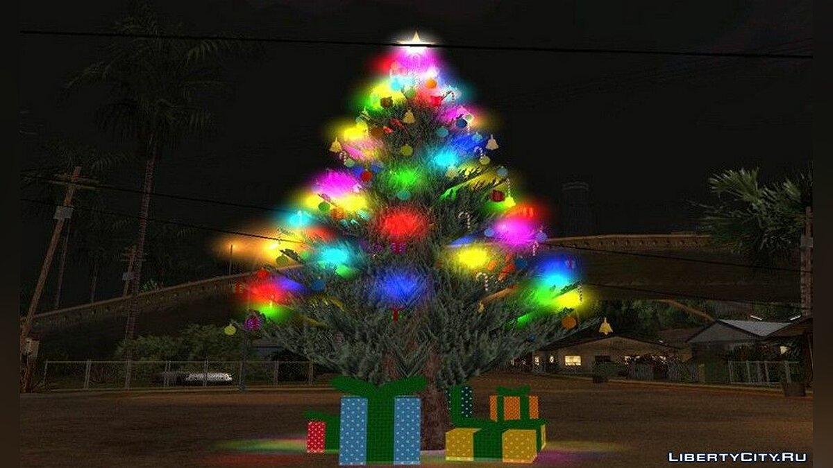 New object Christmas tree for GTA San Andreas